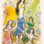 Marc Chagall Dance of Miriam, Sister of Moses